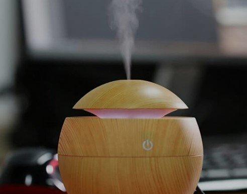 Warm mist humidifiers will warm the air